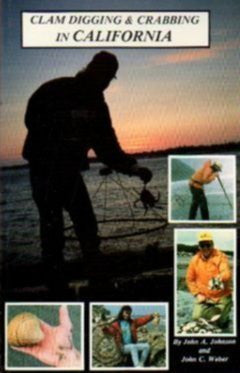 Clam Digging and Crabbing In California - Wide World Maps & MORE! - Book - Wide World Maps & MORE! - Wide World Maps & MORE!