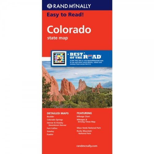 us topo - Easy to Read Colorado - Wide World Maps & MORE! - Book - Rand McNally and Company (COR) - Wide World Maps & MORE!