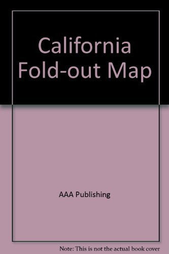 California Fold-out Road Map (State Series)