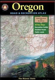 Oregon Road & Recreation Atlas 4th (forth) edition Text Only