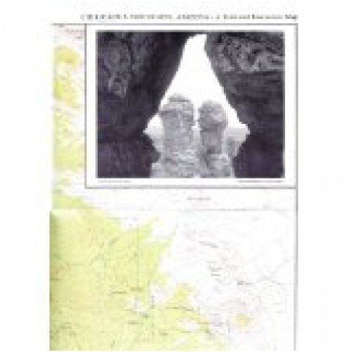 Chiricahua Mountains, Arizona Trail and Recreation Map