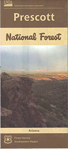 Prescott National Forest, Arizona - Wide World Maps & MORE! - Map - United States Department of Agriculture - Wide World Maps & MORE!