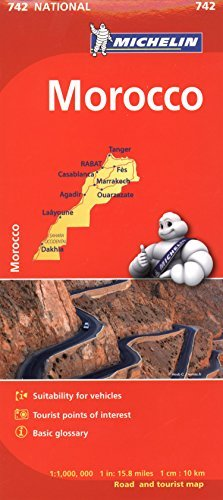 Michelin Map Africa Morocco 742 (Maps/Country (Michelin)) - Wide World Maps & MORE! - Book - Wide World Maps & MORE! - Wide World Maps & MORE!