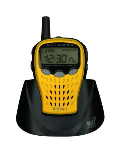 Oregon Scientific WR601N Portable Weather Radio