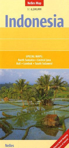 us topo - Indonesia Nelles Map (English, French and German Edition) - Wide World Maps & MORE! - Book - Wide World Maps & MORE! - Wide World Maps & MORE!