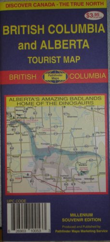 British Columbia/Alberta Tourist Map - Wide World Maps & MORE! - Book - Unknown - Wide World Maps & MORE!