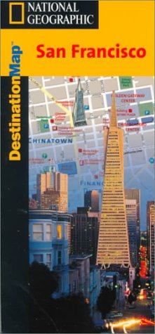 National Geographic Destination Map San Francisco - Wide World Maps & MORE! - Book - Wide World Maps & MORE! - Wide World Maps & MORE!