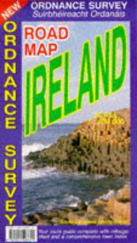 Road Map Ireland (English, French and German Edition)