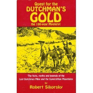 us topo - Quest for the Dutchman's Gold: The 100-Year Mystery: The Facts, Myths and Legends of the Lost Dutchman Mine and the Superstition M - Wide World Maps & MORE! - Book - Brand: Golden West Publishers (AZ) - Wide World Maps & MORE!