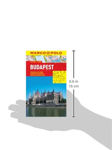 Budapest Marco Polo City Map (Marco Polo City Maps) - Wide World Maps & MORE! - Book - Marco Polo - Wide World Maps & MORE!