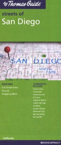 The Thomas Guide Streets of San Diego: California