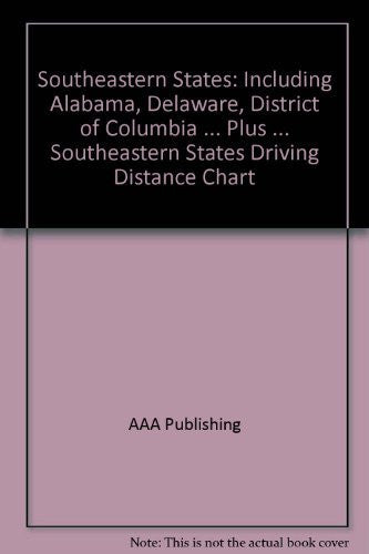 us topo - Southeastern States: Including Alabama, Delaware, District of Columbia ... Plus ... Southeastern States Driving Distance Chart - Wide World Maps & MORE! - Book - Wide World Maps & MORE! - Wide World Maps & MORE!