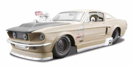 us topo - 1:24 PRPS 1967 Ford Mustang GT,Matalic White - Wide World Maps & MORE! - Toy - Maisto - Wide World Maps & MORE!