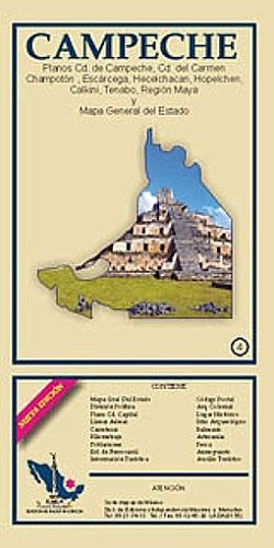 Campeche State & Campeche City Map EGIAS