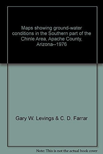 Maps showing ground-water conditions in the Southern part of the Chinle Area, Apache County, Arizona--1976