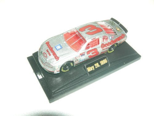Motorsports Authentics 1:64 Dale Earnhardt #3 1995 Silver Select RCR - Wide World Maps & MORE! - Toy - Motorsports Authentics - Wide World Maps & MORE!