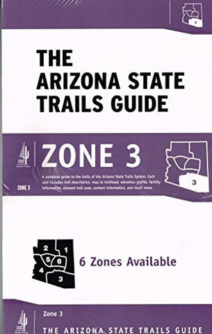 us topo - The Arizona State Trails Guide Zone 3 - Wide World Maps & MORE! - Book - Wide World Maps & MORE! - Wide World Maps & MORE!