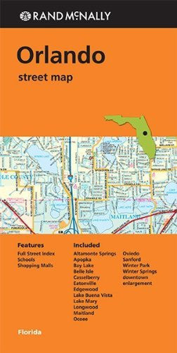 Rand Mcnally Folded Map: Orlando Street Map
