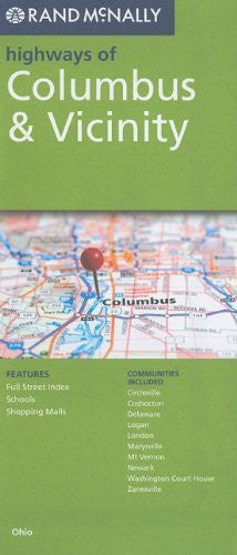 Rand McNally Folded Map: Columbus Highways (Rand McNally Highways Of...)