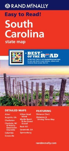 us topo - Rand McNally Folded Map: South Carolina - Wide World Maps & MORE! - Book - Rand McNally and Company (COR) - Wide World Maps & MORE!