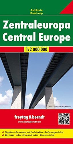 Central Europe (English, French and German Edition)