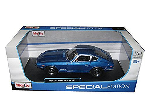 1971 Datsun 240z Blue 1/18 by Maisto 31170