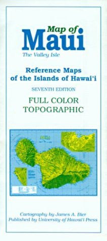 Maui (Reference Maps of the Islands of Hawai'i)
