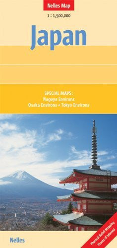 Japan Nelles map