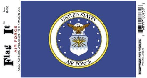 us topo - Vinyl Decal- Air Force - Wide World Maps & MORE! - Automotive Parts and Accessories - Flag It - Wide World Maps & MORE!