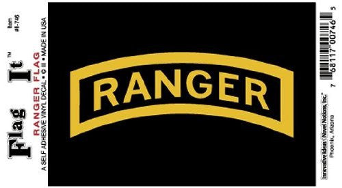 Ranger decal for auto, truck or boat