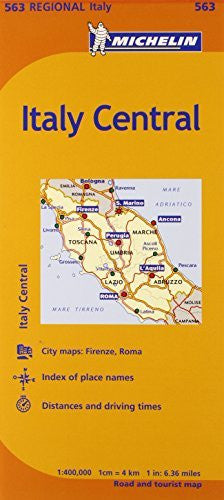 us topo - Michelin Road Map No. 563 Toscana - Umbria - Lazio - Marche - Abruzzo (Italy) - Wide World Maps & MORE! - Book - Wide World Maps & MORE! - Wide World Maps & MORE!