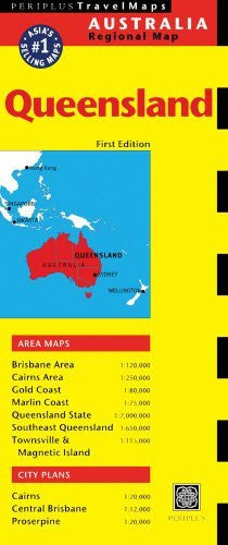 Queensland Travel Map First Edition (Australia Regional Maps)