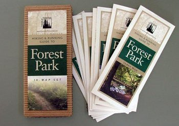 Hiking & Running Guide to Forest Park 10 Map Set
