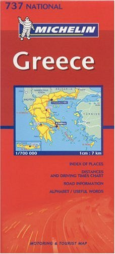 Michelin Greece #737 (Michelin Maps)