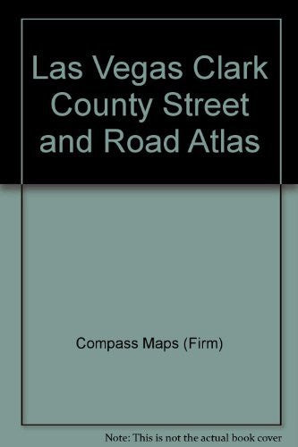 us topo - Las Vegas Clark County Street and Road Atlas - Wide World Maps & MORE! - Book - Compass - Wide World Maps & MORE!