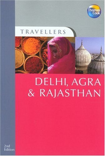us topo - Travellers Delhi, Agra & Rajasthan, 2nd (Travellers - Thomas Cook) - Wide World Maps & MORE! - Book - Brand: Thomas Cook Publishing - Wide World Maps & MORE!