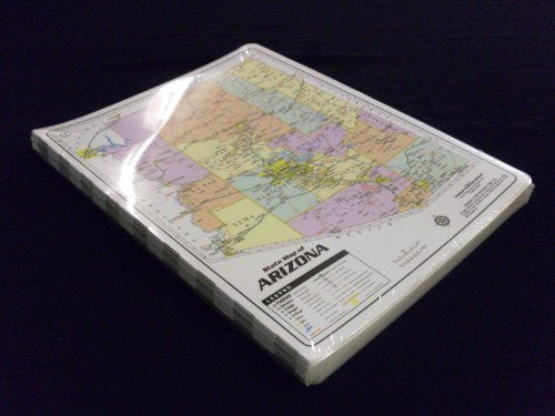 us topo - Arizona Desktop Map: Classroom Set of 20 - Wide World Maps & MORE! - Book - Wide World Maps & MORE! - Wide World Maps & MORE!