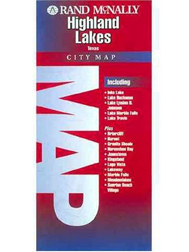 us topo - Folded Map-Highland Lakes (Rand McNally) - Wide World Maps & MORE! - Book - Wide World Maps & MORE! - Wide World Maps & MORE!