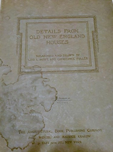 us topo - Details from Old New England Houses - Wide World Maps & MORE! - Book - Wide World Maps & MORE! - Wide World Maps & MORE!