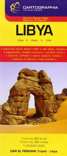 Libya (Cartographia Country Maps) (English, French and German Edition)