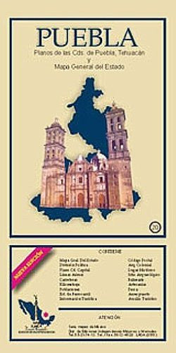 us topo - Puebla State & Puebla City Map EIAGS (Spanish Edition) - Wide World Maps & MORE! - Book - Wide World Maps & MORE! - Wide World Maps & MORE!