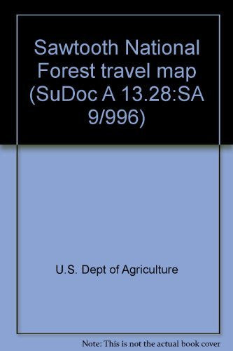 us topo - Sawtooth National Forest travel map (SuDoc A 13.28:SA 9/996) - Wide World Maps & MORE! - Book - Wide World Maps & MORE! - Wide World Maps & MORE!