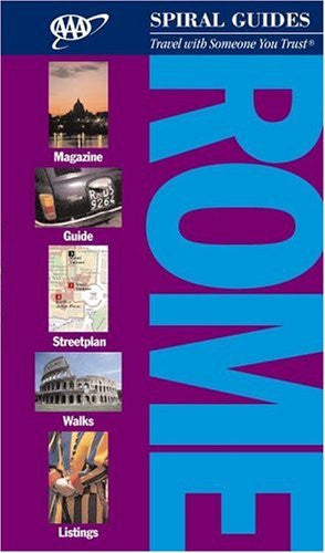 us topo - Rome (AAA Spiral Guides) - Wide World Maps & MORE! - Book - Brand: AAA - Wide World Maps & MORE!