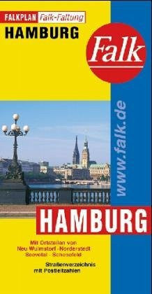 Hamburg City Plan (Falk Plan) (German Edition)