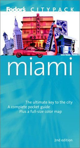 us topo - Fodor's Citypack Miami, 2nd Edition (Citypacks) - Wide World Maps & MORE! - Book - Brand: Fodor's - Wide World Maps & MORE!