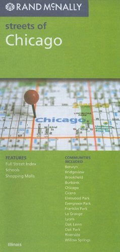 us topo - Rand McNally Streets of Chicago, Illinois - Wide World Maps & MORE! - Book - Wide World Maps & MORE! - Wide World Maps & MORE!