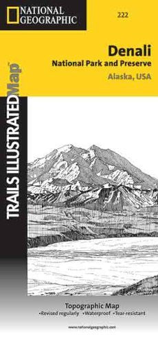 us topo - Trails Illustrated National Parks Denali (Trails Illustrated - Topo Maps USA) - Wide World Maps & MORE! - Book - National Geographic Books - Wide World Maps & MORE!