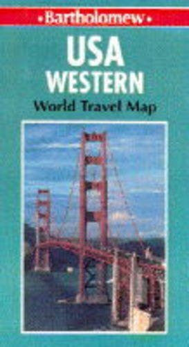 United States of America Map: Western (World Travel)