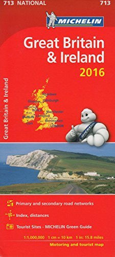us topo - Great Britain & Ireland 2016 National Map 713 2016 (Michelin National Maps) - Wide World Maps & MORE! - Book - Wide World Maps & MORE! - Wide World Maps & MORE!