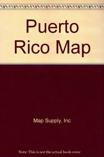 us topo - Puerto Rico Map - Wide World Maps & MORE! - Book - Wide World Maps & MORE! - Wide World Maps & MORE!